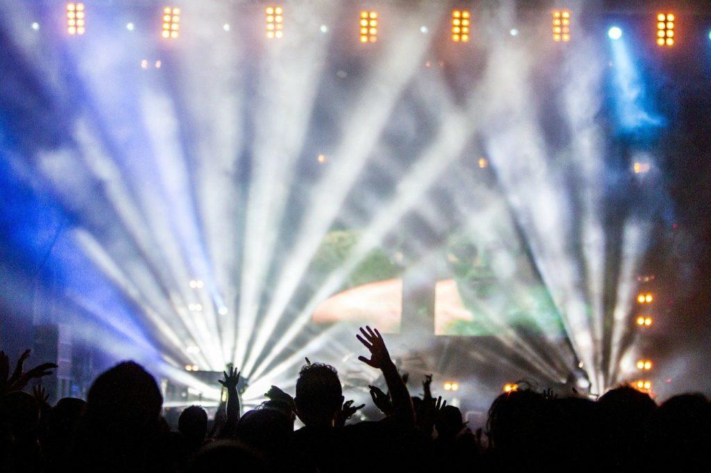 concert, crowd, performance